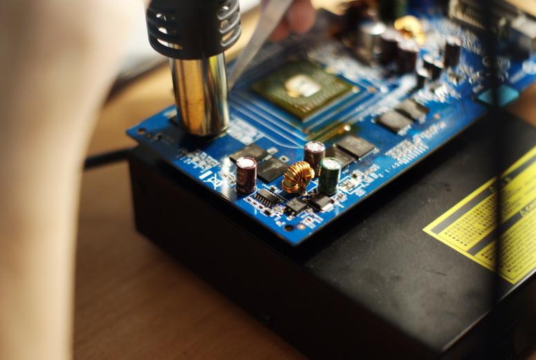 ремонт видеокарты ноутбука дарница киев
